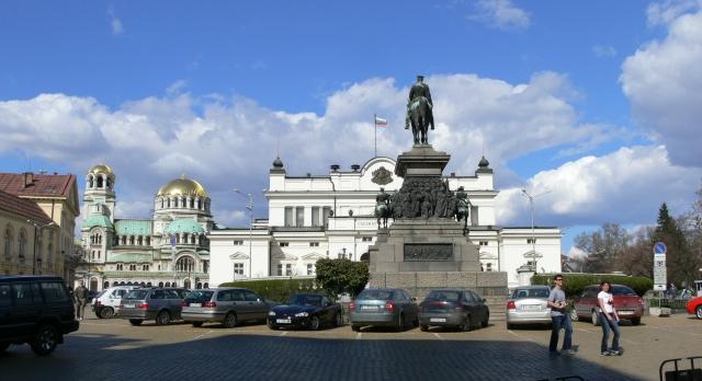 sofia parliament square