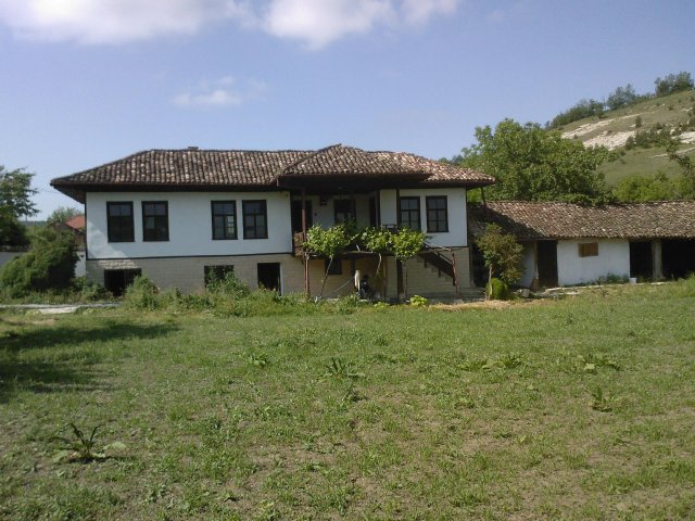 Old bulgarian house in need of renovation