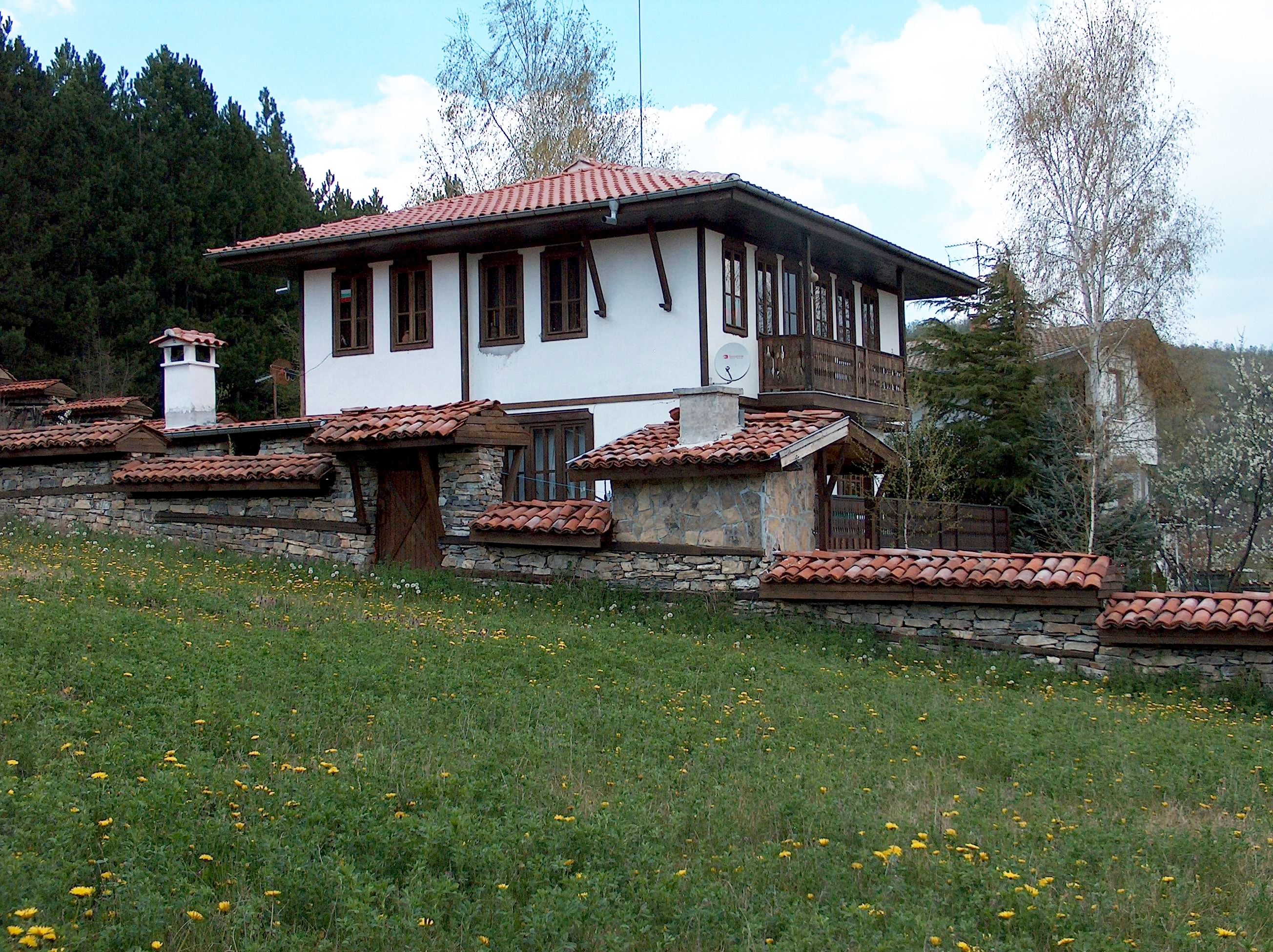 New Traditional House Bulgaria