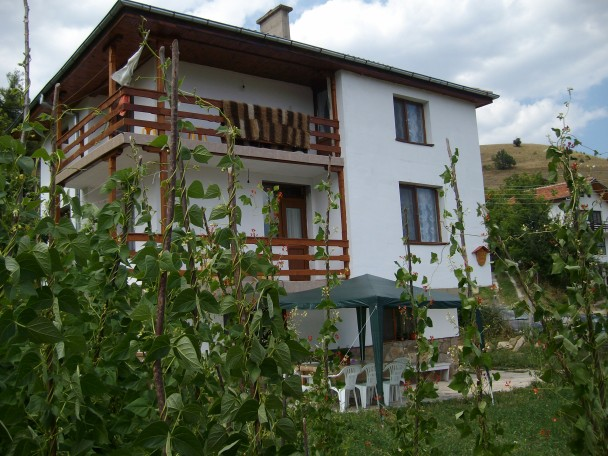 Bulgarian house in Rhodopes mountain