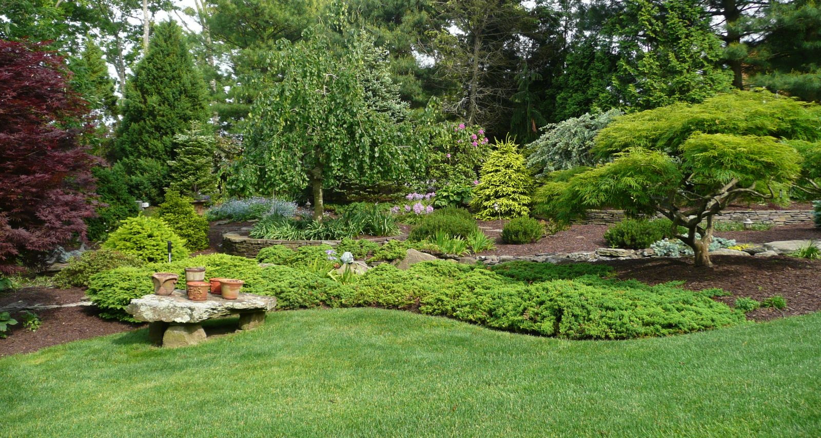 Backyard landscape pics image mag for Landscaping your garden