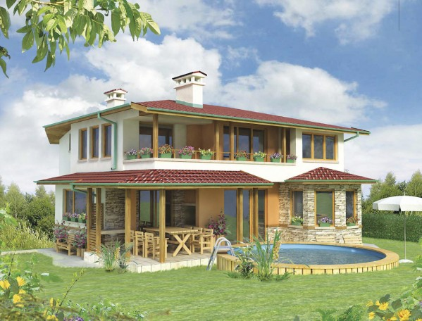 off plan house for sale in Bulgaria