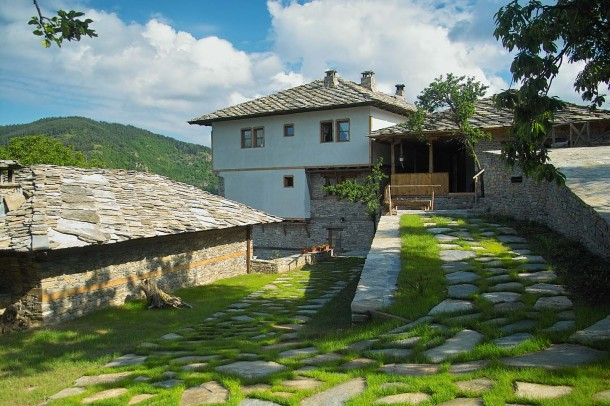 Bulgarian rural house