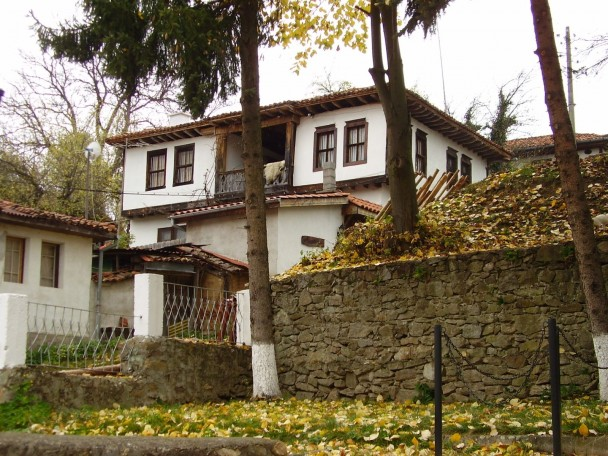 traditional house in Bulgaria