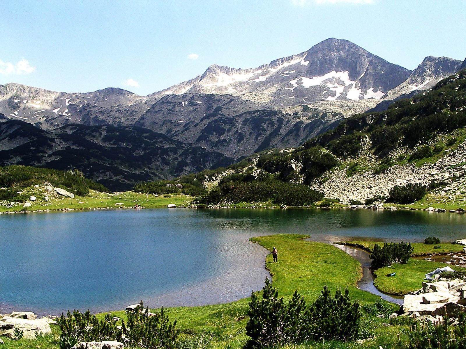 mountain lake in Bulgaria