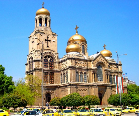 bulgaria Varna cathedral