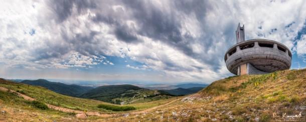 buzludzha landscape bulgaria