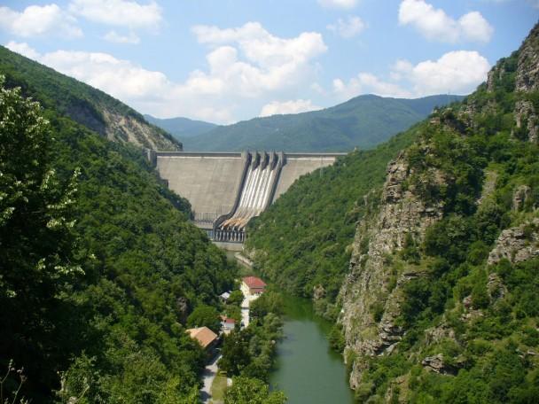 tsankov kamak Dam Bulgaria Mountain