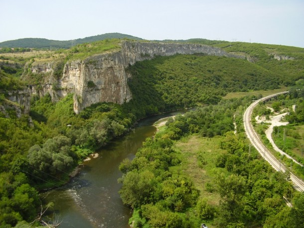 gorge in Bulgaria